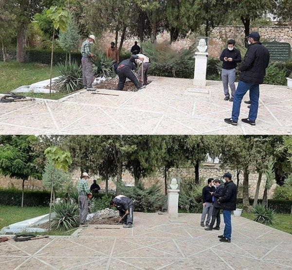 محل+دفن+محمدرضا+شجریان+در+طوس+
