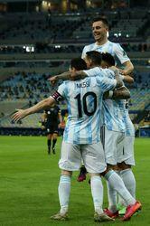 قهرمانی مسی با آرژانتین در قلب برزیل