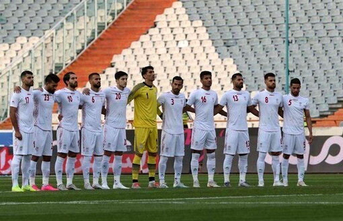 تیم ملی ایران در جوار خلیج فارس+عکس دیدنی