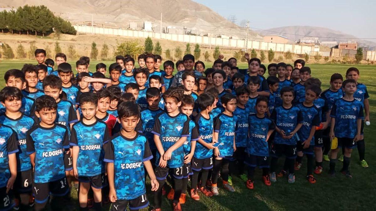 انتخاب بهترین مدرسه فوتبال و آکادمی فوتبال در کرج و استان البرز FCDORFAK