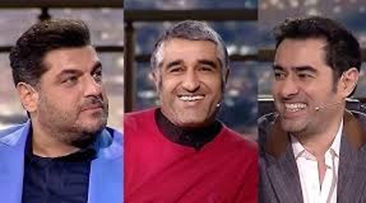 برنامه همرفیق شهاب حسینی / ناگفته های سام درخشان و پژمان جمشیدی + فیلم