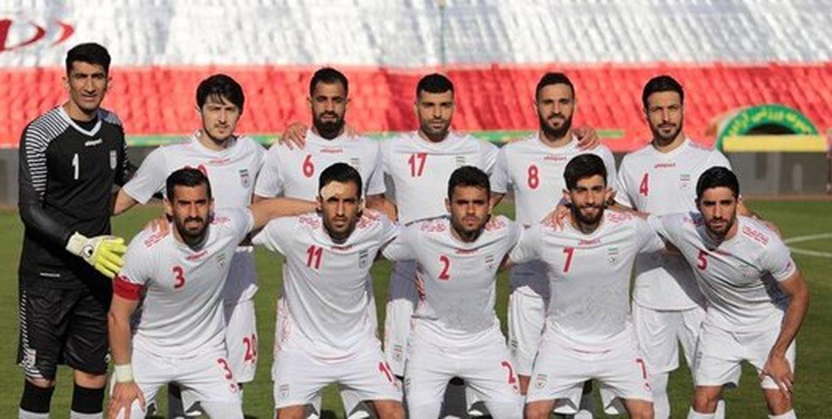 ببینید کیت سفید و قرمز جدید تیم ملی فوتبال