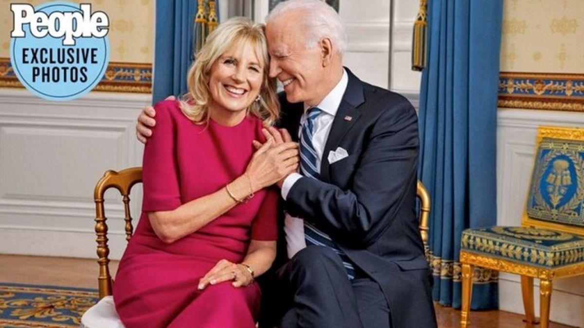 سورپرایز عاشقانه رئیس جمهور آمریکا برای همسرش + این عکس جو بایدن غوغا بپا کرد