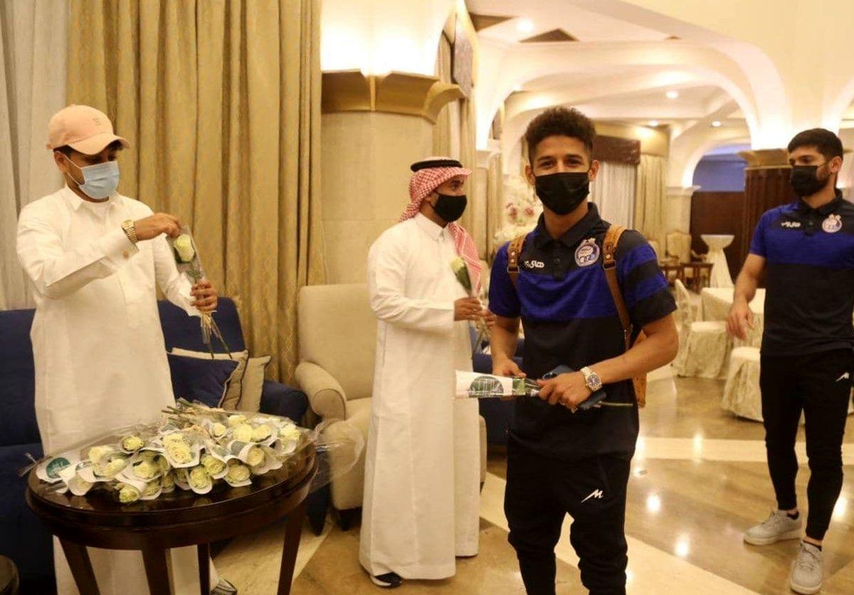 پایان ماجراجویی استقلال در عربستان+عکس لو رفته