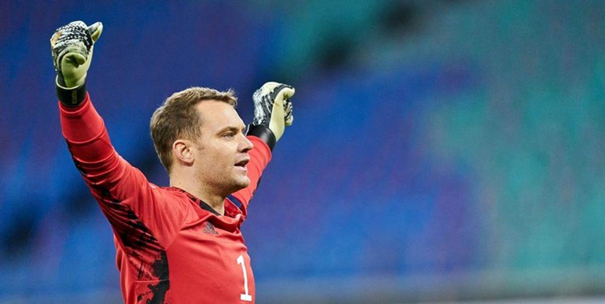 مانوئل نویر بهترین بازیکن فوتبال آلمان