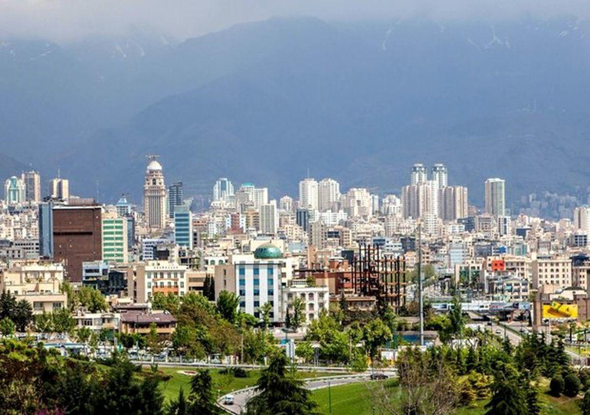 ریزش قیمت خانه در مناطق تهران جدول