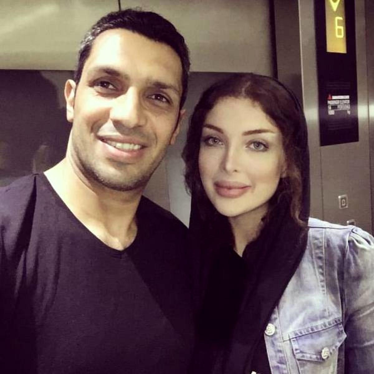 خوشگذرانی سپهر حیدری و همسرش در دبی/ پشت پرده عکس جنجالی حیدری و خانم غریبه در یک مراسم