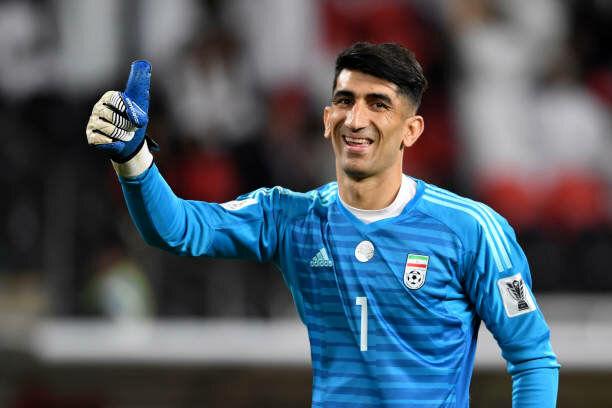 بیرانوند مرد سال فوتبال آسیا در سال ۲۰۱۹