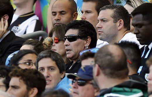 دعوای معروف مارادونا بعد از بازی ایران و آرژانتین