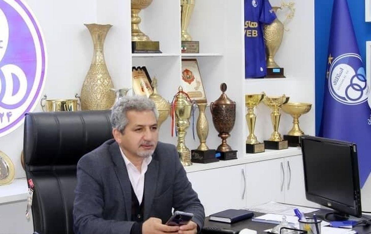 خط و نشان معاون استقلال برای گل محمدی: از این به بعد با من طرفید
