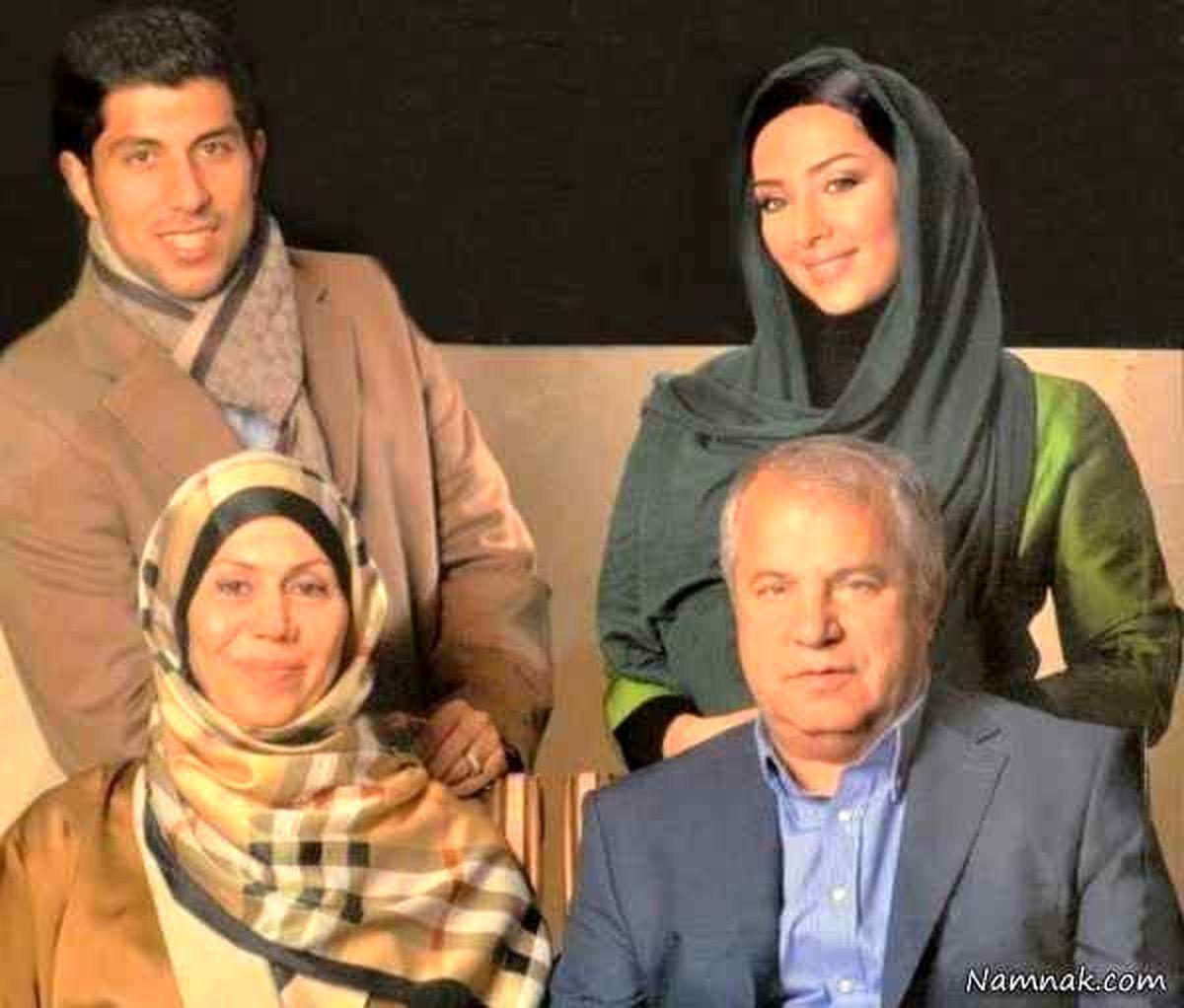 عکس لو رفته از خانوادگی علی پروین