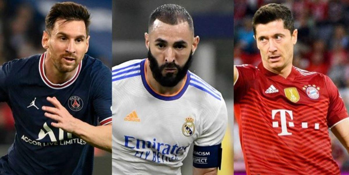 3 نامزد نهایی توپ طلا 2021