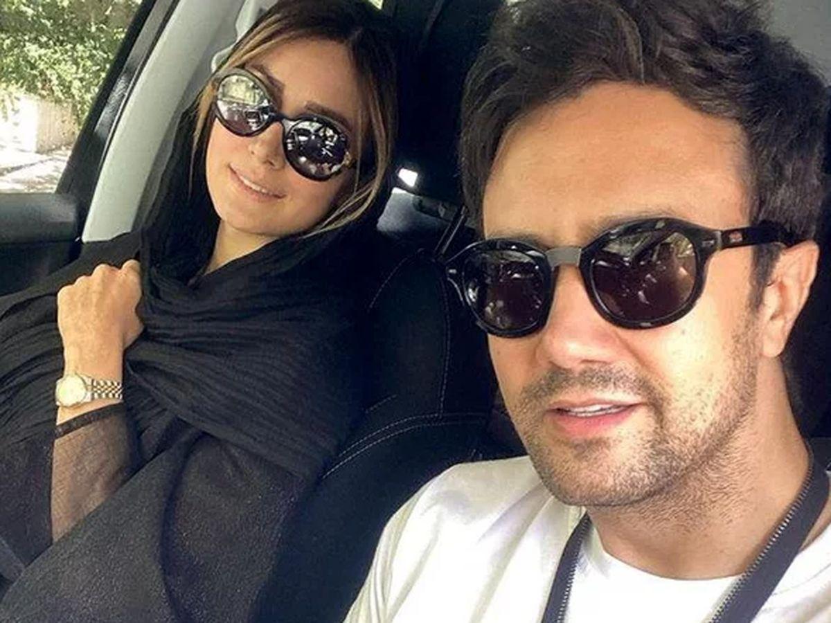 اتفاقی عجیب؛ گدایی شاهرخ استخری و همسرش در خارج! + عکس دختران زیبای شاهرخ استخری