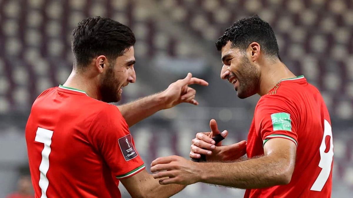 الماس خوش تراش تیم ملی فوتبال ایران