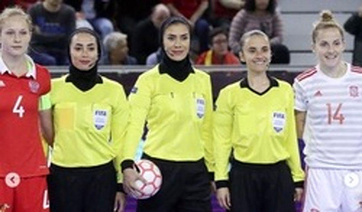 اتفاق بزرگ؛ قضاوت داوران زن ایرانی در پلی آف جام جهانی مردان