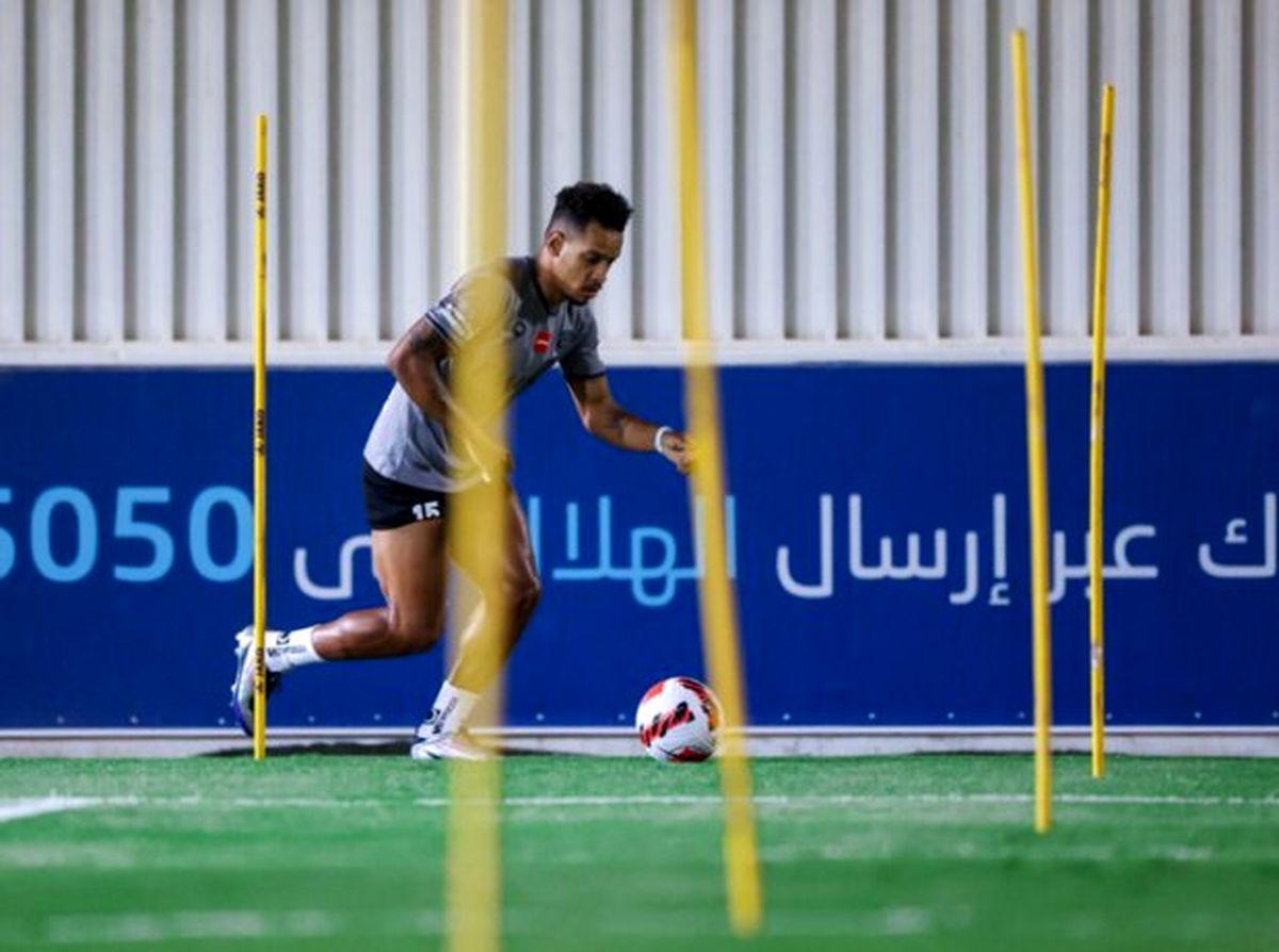 بازیکن برزیلی الهلال به بازی پرسپولیس می رسد