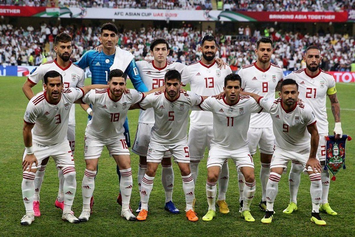 صعود تیم ملی ایران در ردهبندی فیفا + لیست