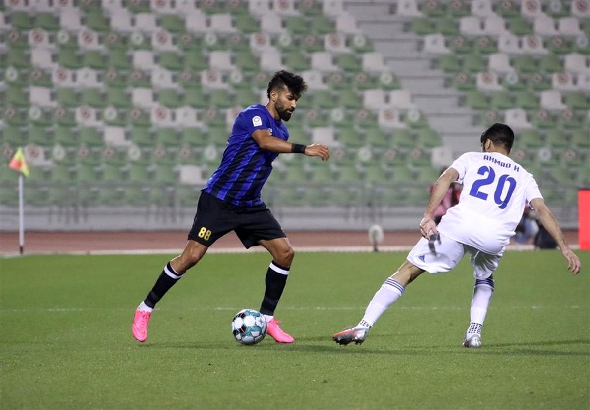 تقابل عجیب مدافعان پرسپولیس در هفته پنجم لیگ قطر