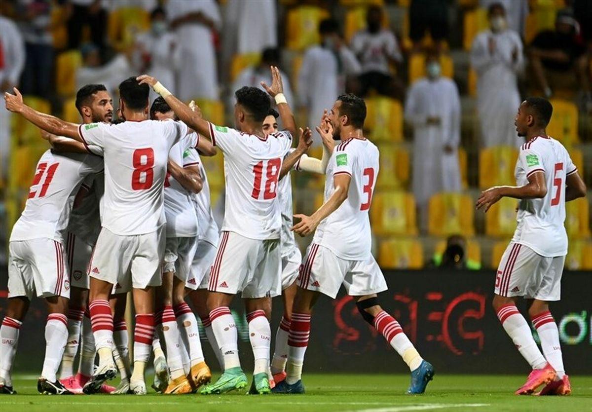 حضور ۸ هزار تماشاگر در دیدار امارات و ایران