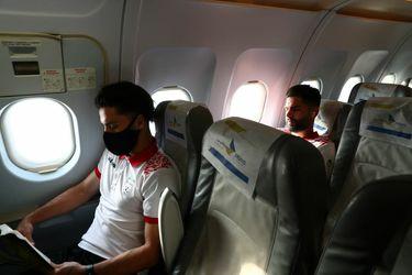 پرواز تیم ملی به امارات