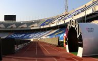 مجهزترین تونل ضدعفونی ایران در استادیوم آزادی+عکس