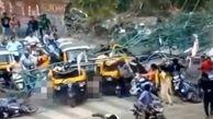 خبر جنجالی از لحظه مرگ بار بیلبورد در هندوستان +ویدیو دیده نشده