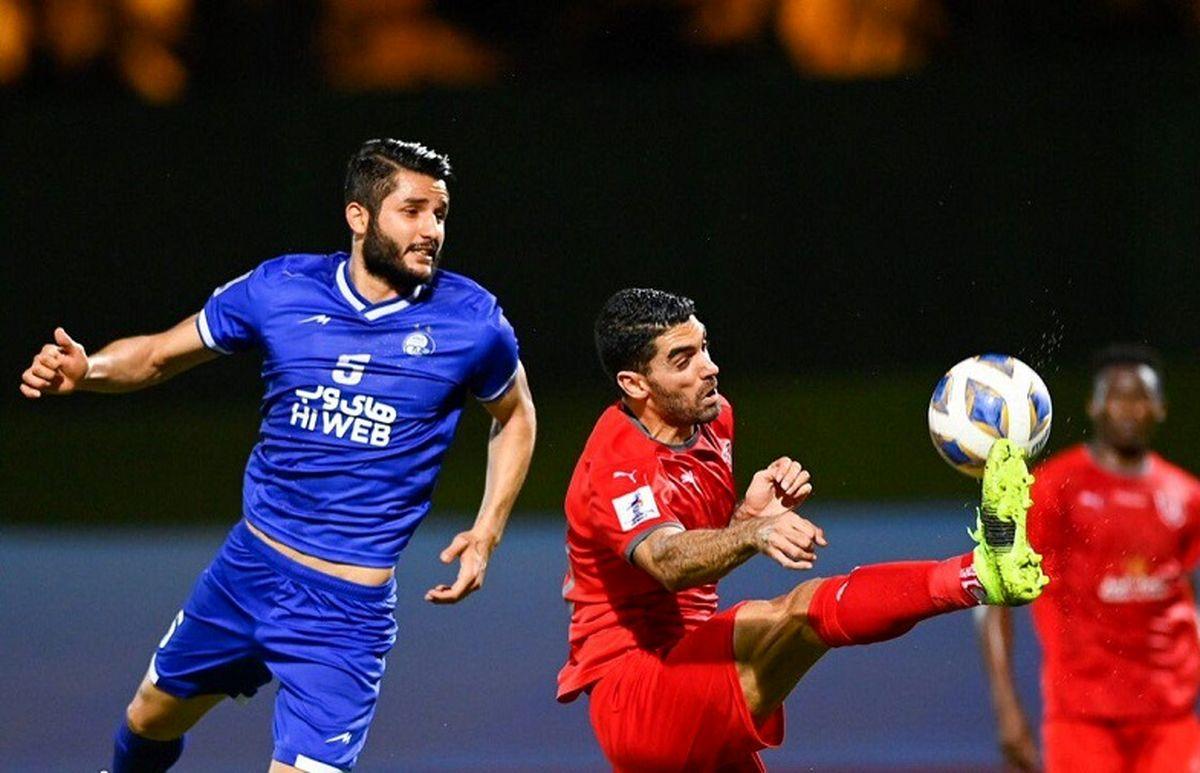 خداحافظی غم انگیز ستاره استقلالی با لیگ قهرمانان آسیا!