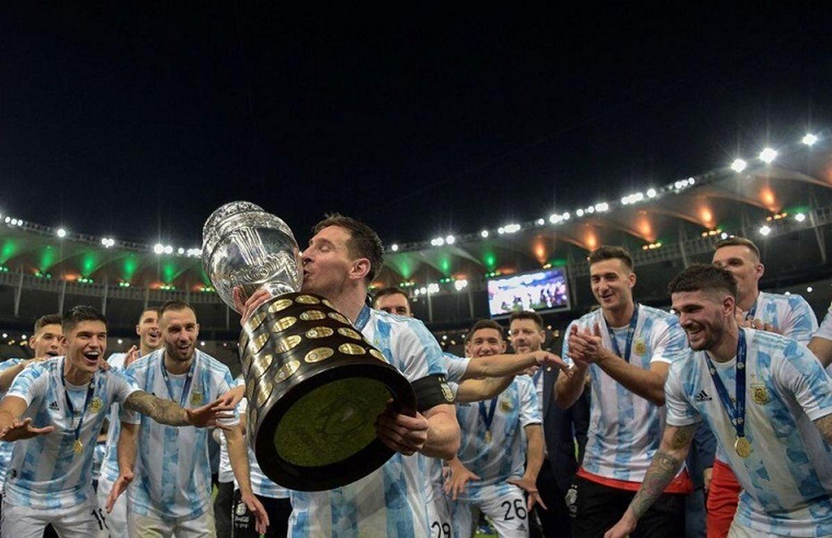 واکنش عجیب لیونل مسی به قهرمانی آرژانتین