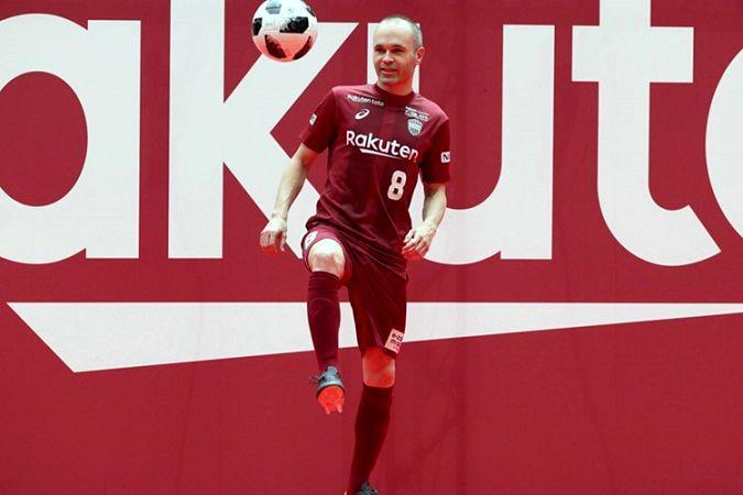 دومین جام اینیستا در فوتبال ژاپن + عکس