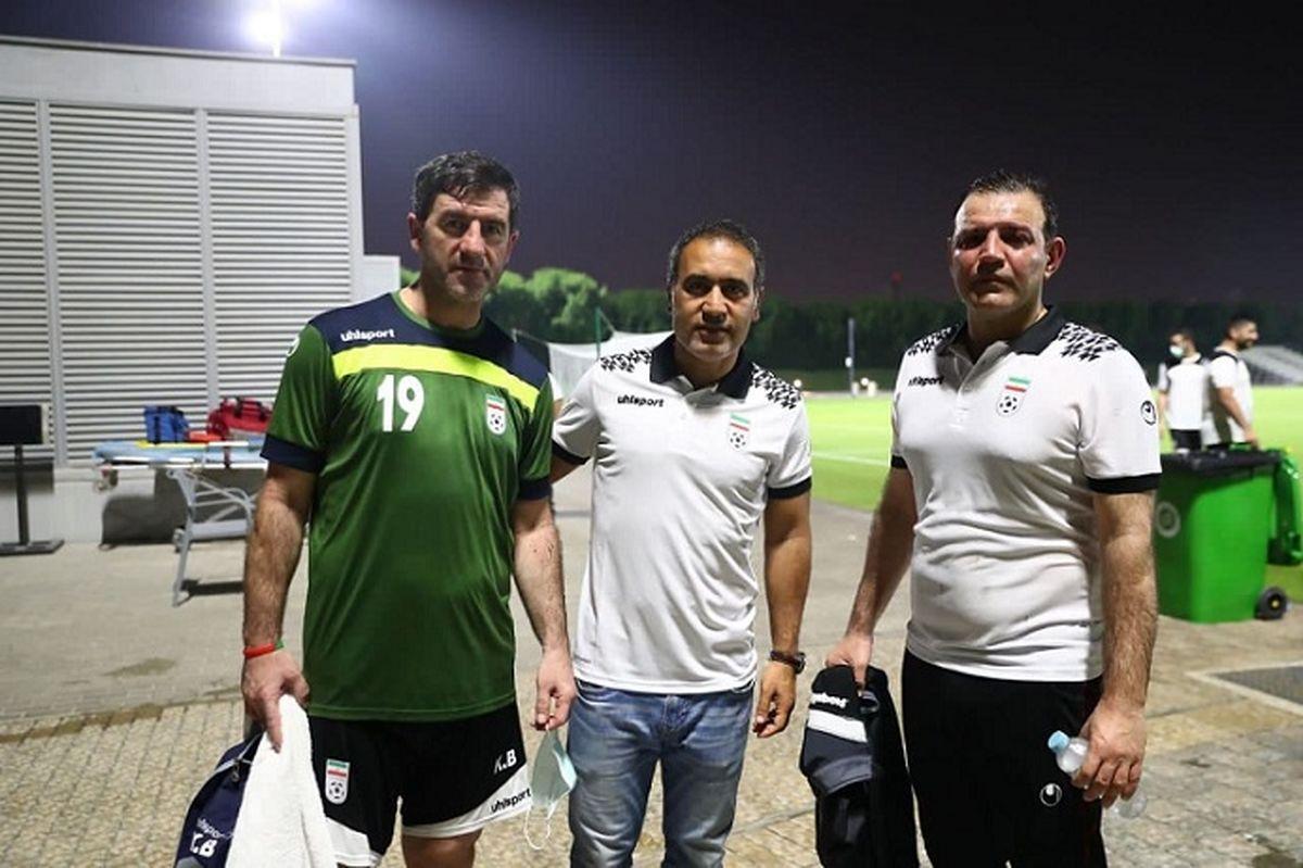 اولین عکس از حضور عزیزیخادم و مهدویکیا همراه تیم ملی