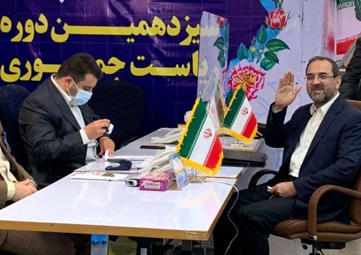 وزیر ورزش دولت احمدی نژاد هم کاندیدای ریاست جمهوری شد