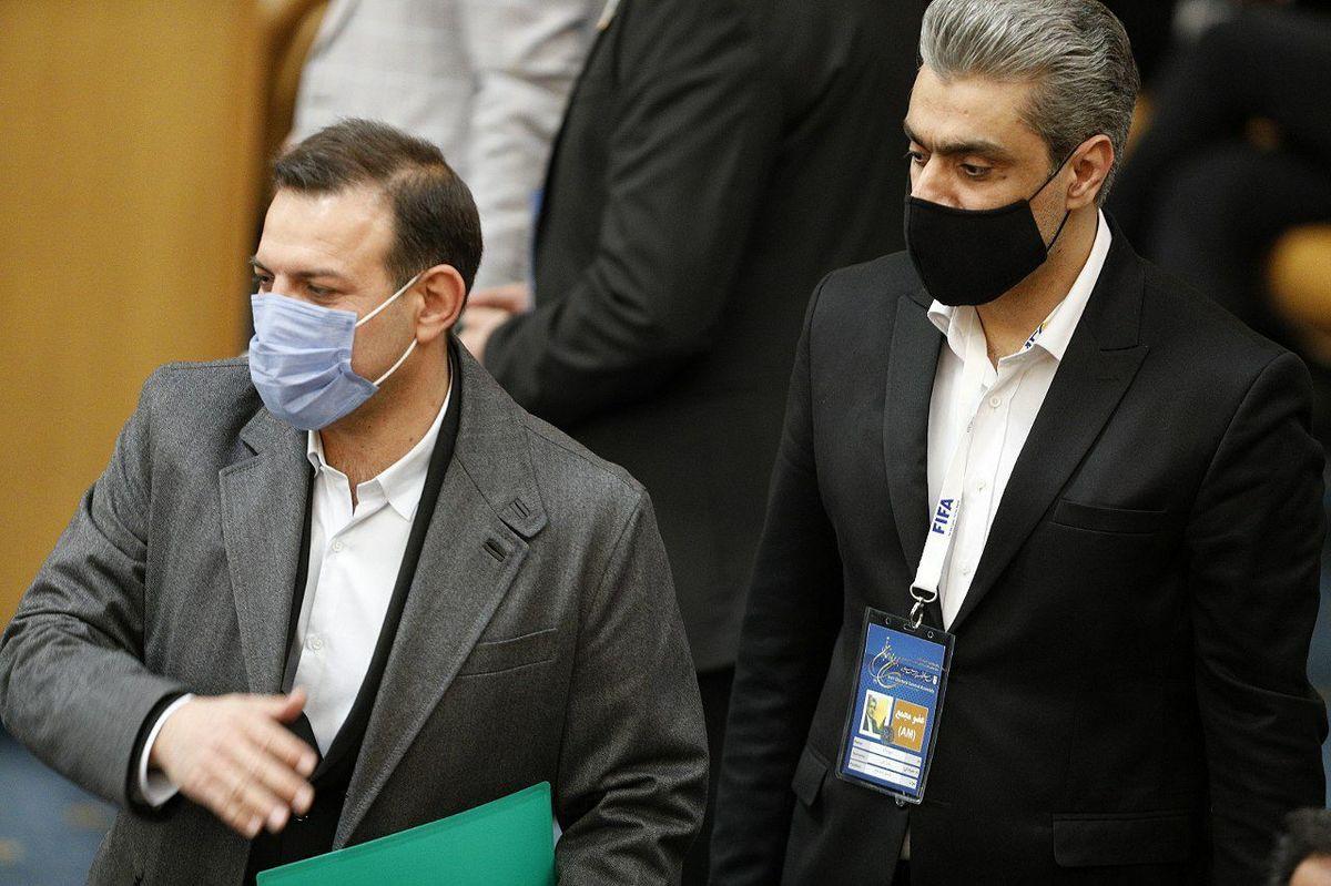 عزیزی خادم رئیس جدید فوتبال ایران