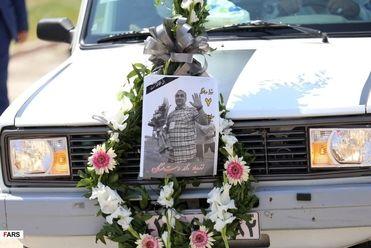 گزارش تصویری از تشییع و خاکسپاری مرحوم نادر دست نشان