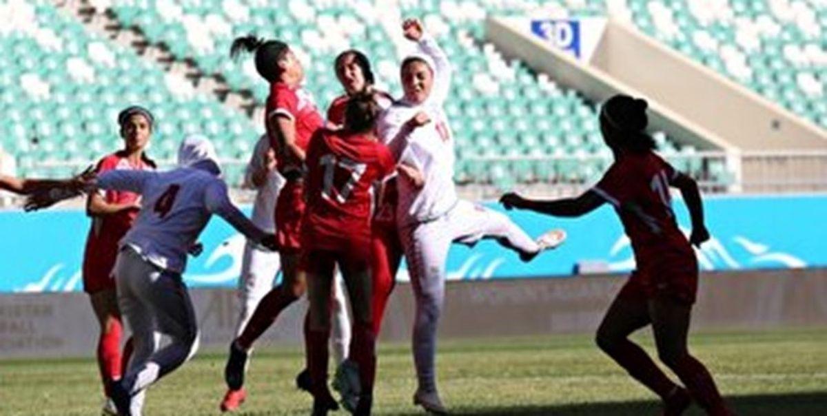 صعود شیرین تیم ملی فوتبال بانوان به جام ملتهای آسیا