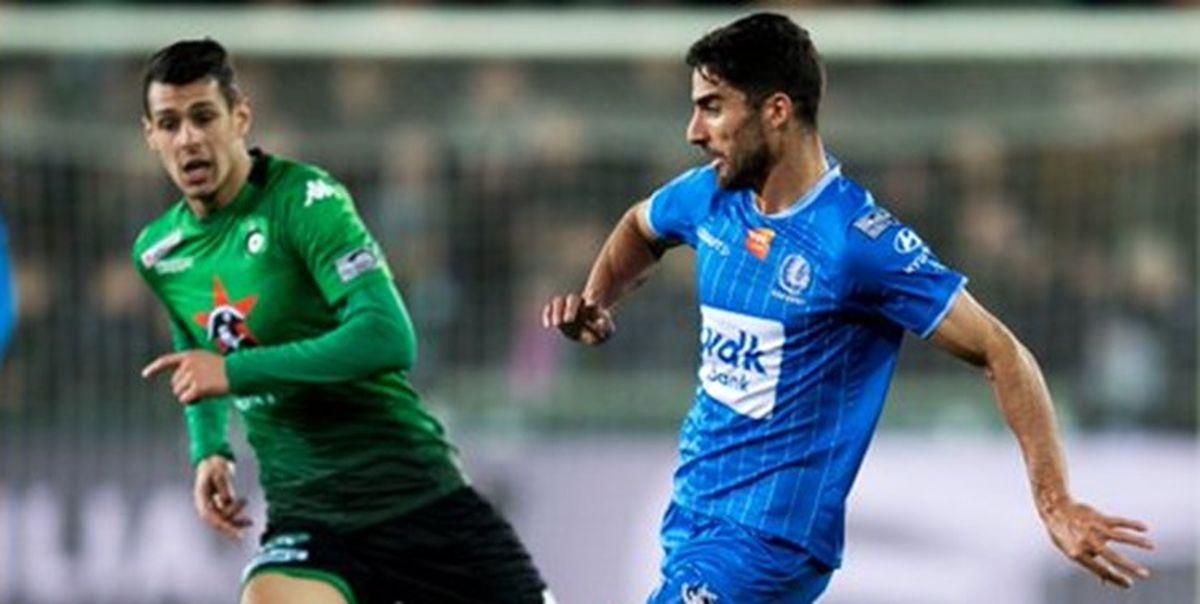 لژیونر فوتبال ایران از تیم بلژیکی جدا شد