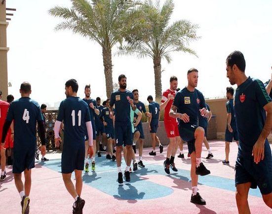 جنجال رابطه نامشروع بازیکنان پرسپولیس در اردوی امارات!