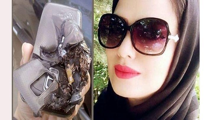 مرگ دردناک خانم معلم اهوازی در انفجار موبایلش! + عکس